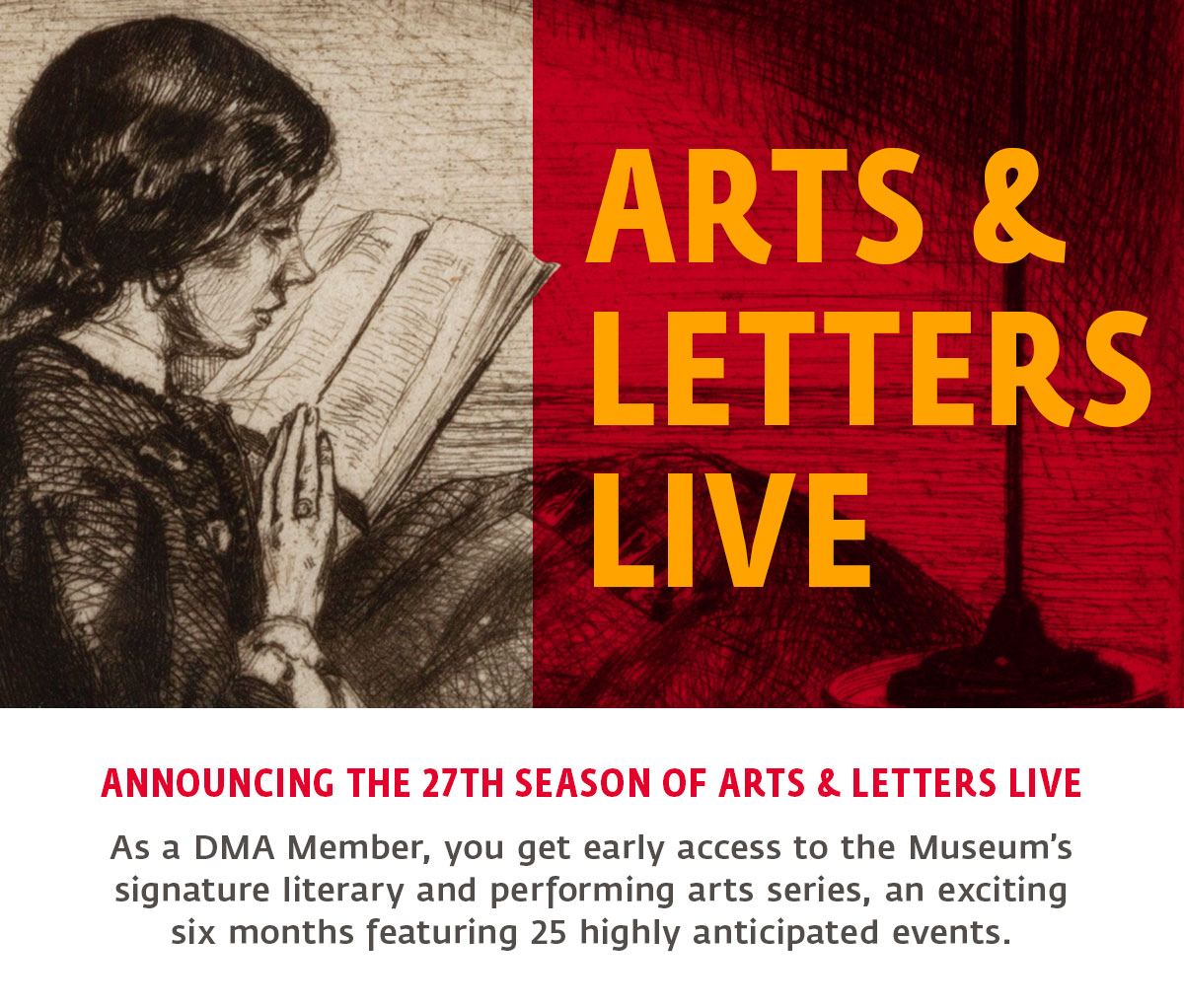Arts and Letters Live 27th Season